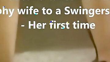 Trophy girl makes debut at Swingers Club