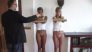 Sally, Natascha Two girls ... two exams