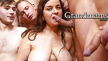 A Round of Fresh Cock for the Horny Granny