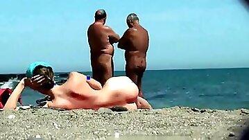 Greek Nude Beach Beauties