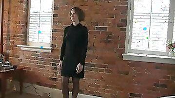 Beautiful sexy shy wife