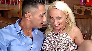 Beautiful mature Szandi having sex with her neighbor