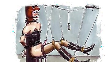 Tranny DreemZ - Crossdresser and Sissies in Bondage Art