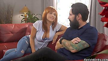 Ex husband anal fuck wife in bondage