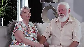 Granny Bonnie Nilsen loves to be fucked by her mature husband