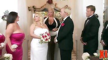 Big Hooters Wedding Part One