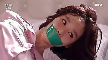 Korean ball-gagged (Han soo yeon)