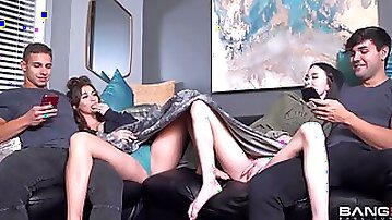 Whipped Creamy Hosts A Couples Orgy Party!