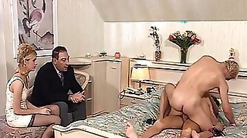 Curvy milf gets dp all holes in threesome with double penetration - Jane Hayes