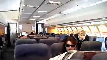 American Stewardess Handjob - Part 1