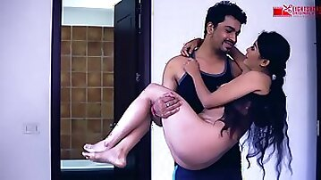 Bare, Indian housewife, Kaamwali Bai got down and messy with her employer and loved it