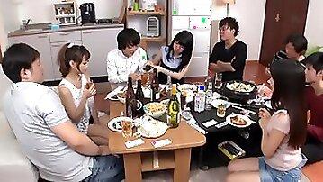 Diminutive Japanese Girl Getting Fucked In The Lockeroom