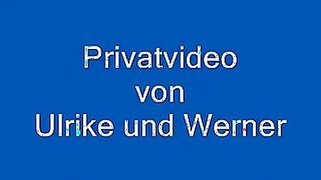 Private sextape of german couple ulrike and werner