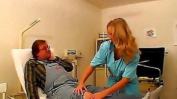 NMLN Weird Old Bloke Gets First Class Nurse !