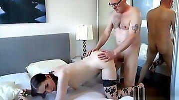 Old Norwegian Dude Fucks 19yo Prostitute part 1