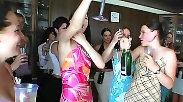 Charming amateur sucks off a priest at a wedding after party and gets screwed hardcore
