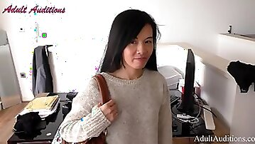 AdultAudition - Chinese Lilly - My First Audition - Hard Fuck