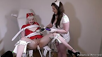 Sub Girls First Time On The Fucking Machine