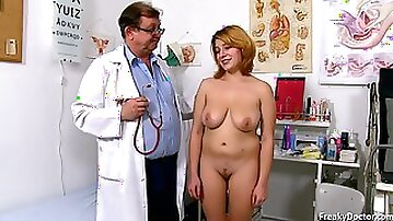 Freaky Doctor and busty babe Lola Fauve