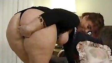 Big ass wife threesome