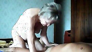 Grandma and grandpa fuck