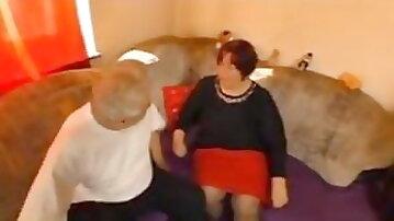 Grandpa and grandma going for it