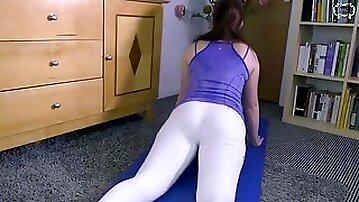 Son Creampies Shuck Yoga mon