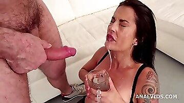 Robin ass fucking casting bianca blue goes moist nuts deep anal cute gapes ass to mouth pee and drink