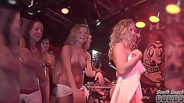 Hot Contest at Ricks Bar Key West Florida - SouthBeachCoeds