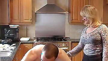 Spanked By Auntie