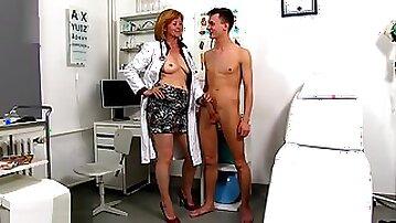 Sperm Hospital - Dirty Mature Slut Nurse Stefania
