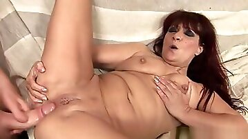 Lusty Grandma -Poking an Old Bitch in The Ass 960x540