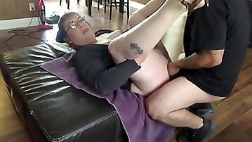 Shy Latino First Time With A Shemale