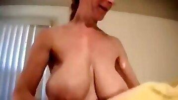 Classic saggy tits