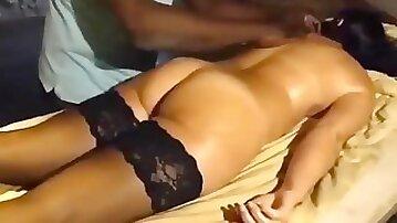 Wifes jamaica honeymoon massage