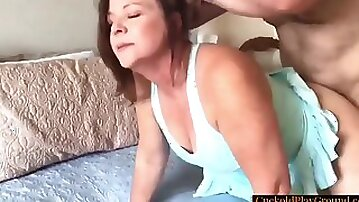 Strangers Dick Up Her Bootie In Front Of Her Cuckold Hubby