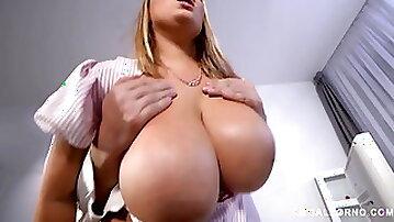 Busty nurse Krystal Swift