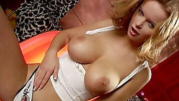 Torrid redhead babe Renata in arousing solo masturbation video