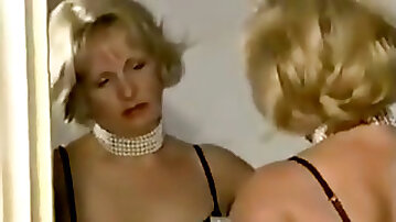 Grannie NYLON FETISH masturbate