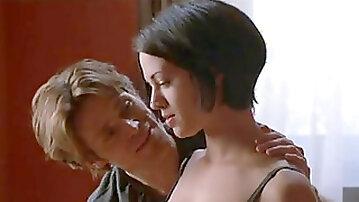 Asia Argento naked and gang-bang scenes