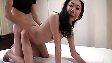 Japanese mature lady delightful xxx clip