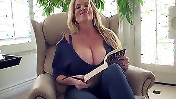 Incroyable blonde, cumshot porn scene
