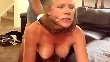 Freckled Busty Wife Had Amazing Night With Stranger - Big dick
