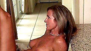 Horny pornstar Jodi West in fabulous blonde, milf porn movie