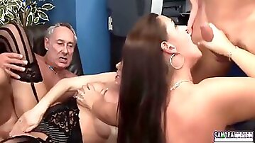 Dani Amour And Pascal White - Cut Out Sexy Businesswomen