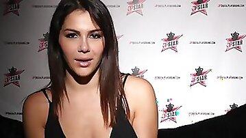 Double penetration Star 3 - Big Natural Tits Italian Valentina Nappi Deep Throat bj