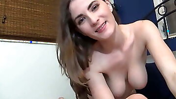 Young Big Breasted Mom Helps Step Son - Family Therapy
