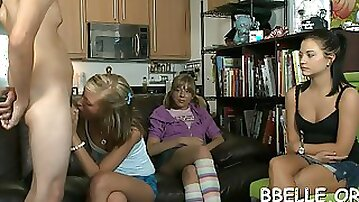 Delightful cock riding teen extreme 6
