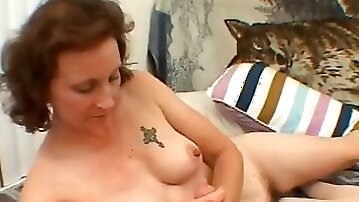 She happily plays with a small cock on POV home video