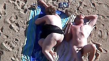 Beach Mature plumper.avi